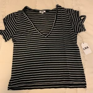 LNA t-shirt with arm slits